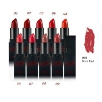 Velvet mood lipstick 09 brick red [Помада для губ]