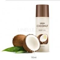 Virgin coconut body oil [Масло для тела кокосовое]