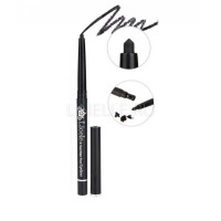 Waterproof eyeliner pencil 1 black [Подводка для глаз водостойкая 01тон]