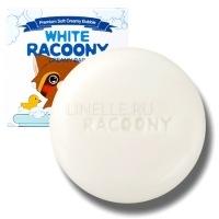 White racoony creamy bar [Мыло кремовое осветляющее]