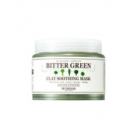 Bitter green clay soothing mask [Маска для лица глиняная успокаивающая]