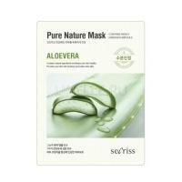 secriss pure nature mask pack- aloevera [Маска для лица тканевая]